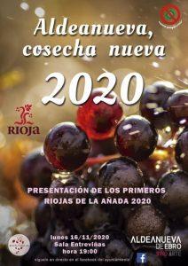 presentación añadas 2020 aldeanueva de ebro