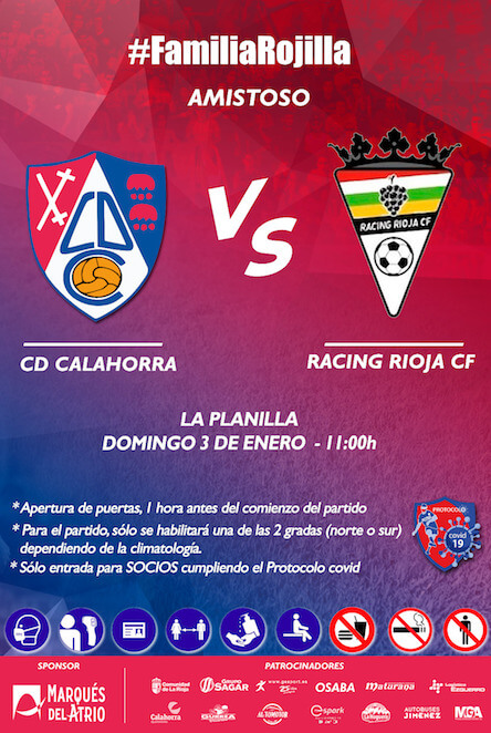 AMISTOSO CD CALAHORRA-RACING RIOJA