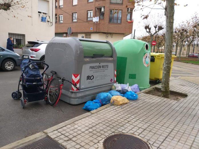 basuras y objetos voluminosos