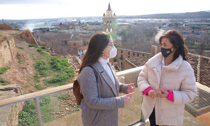 Concha Andreu y Elisa Garrido