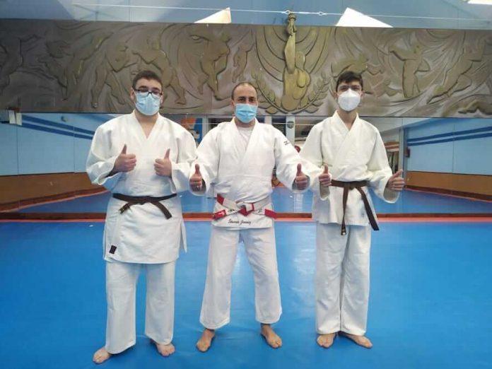 judo cinturones negro