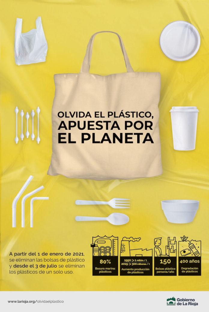 campaña olvida el plástico