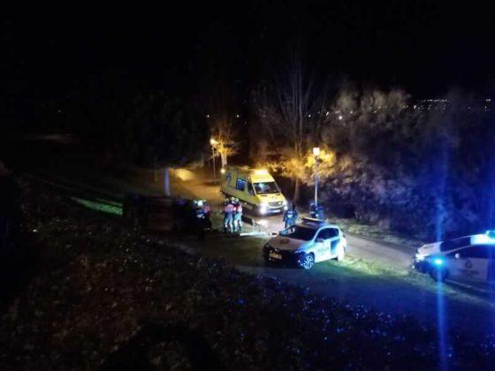 Accidente en el parque Víctimas del Terrorismo