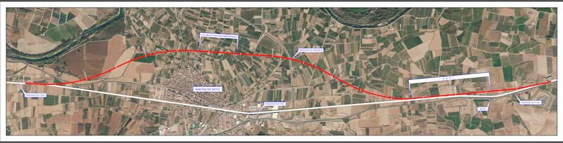 plano variante ferroviaria Rincón de Soto