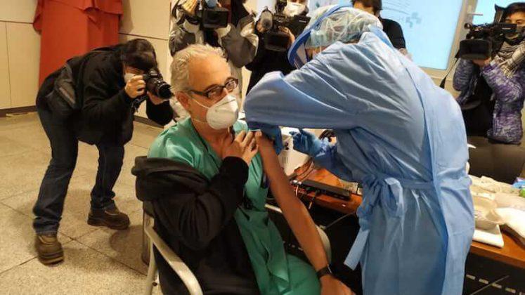 vacunación personal Hospital San Pedro 2