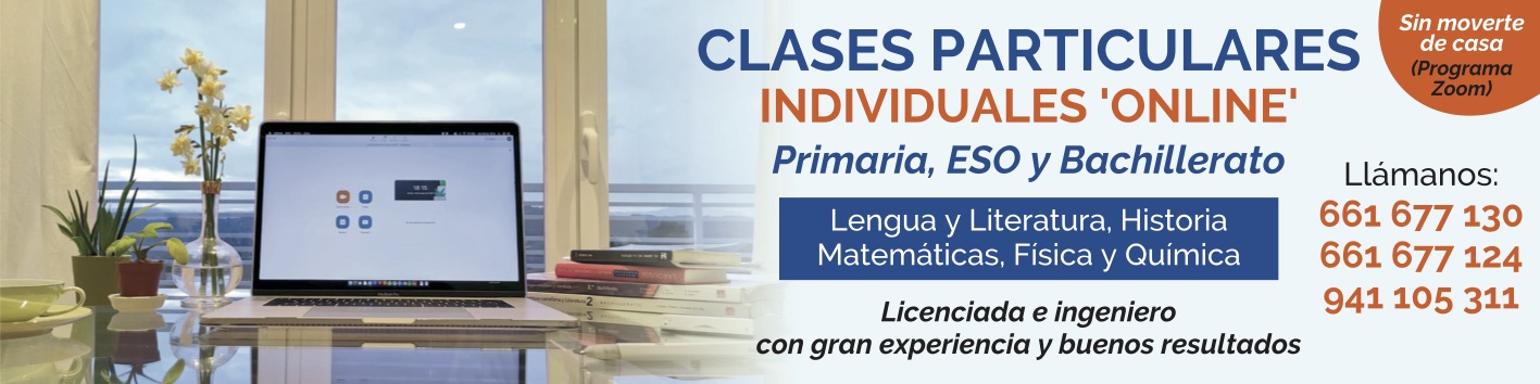 CLASES PARTICULARES BANNER