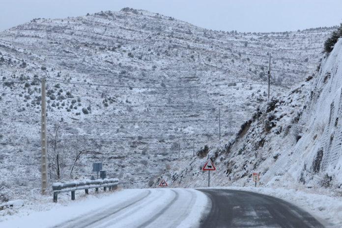 carretera rioja baja nevada