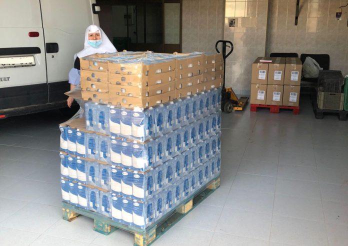 donativo lacteos asilo