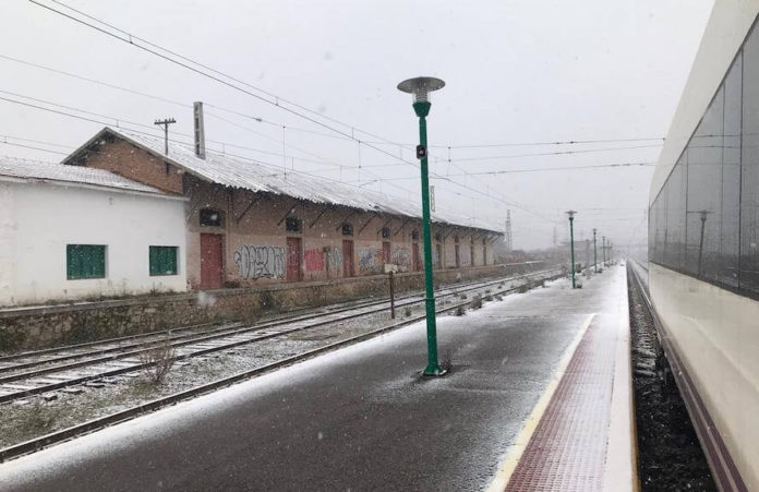 estación tren nevada