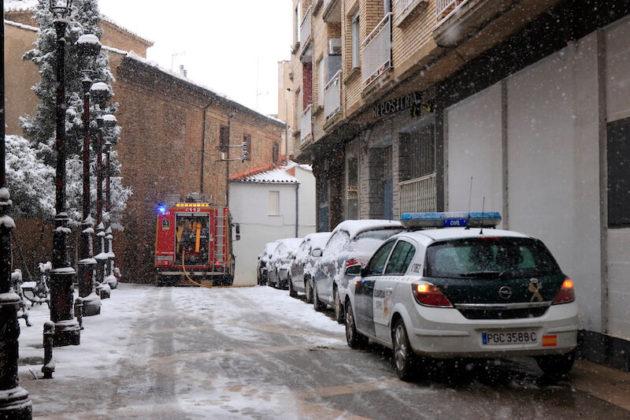 incendio calle Pastelería