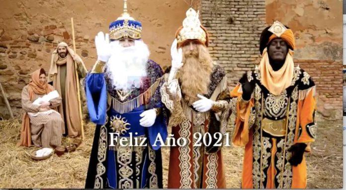 mensaje reyes magos a mayores