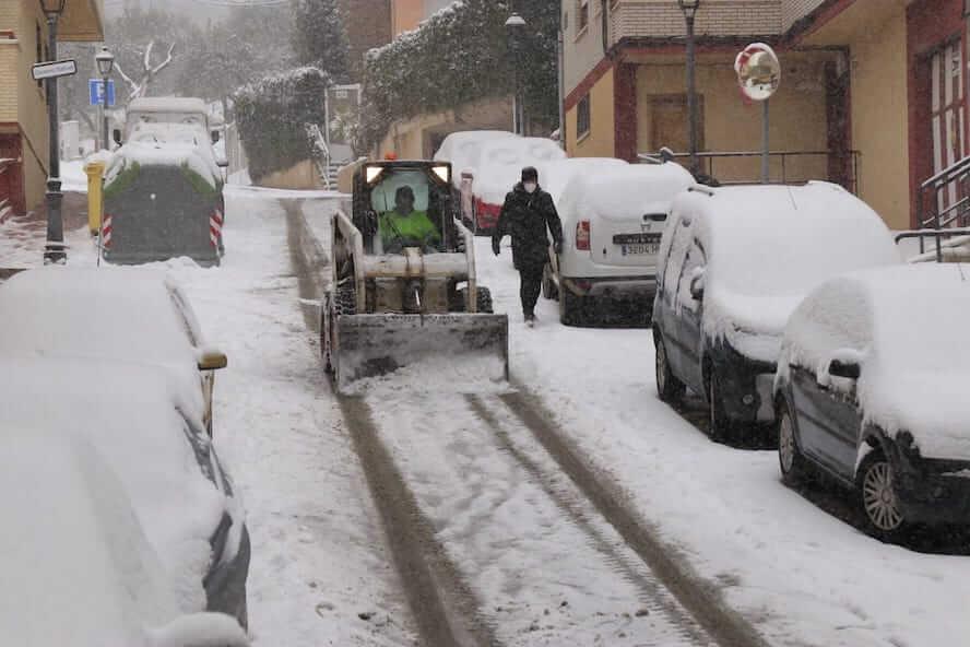 nieve arnedillo 9 enero