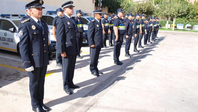 plantilla Policía Local