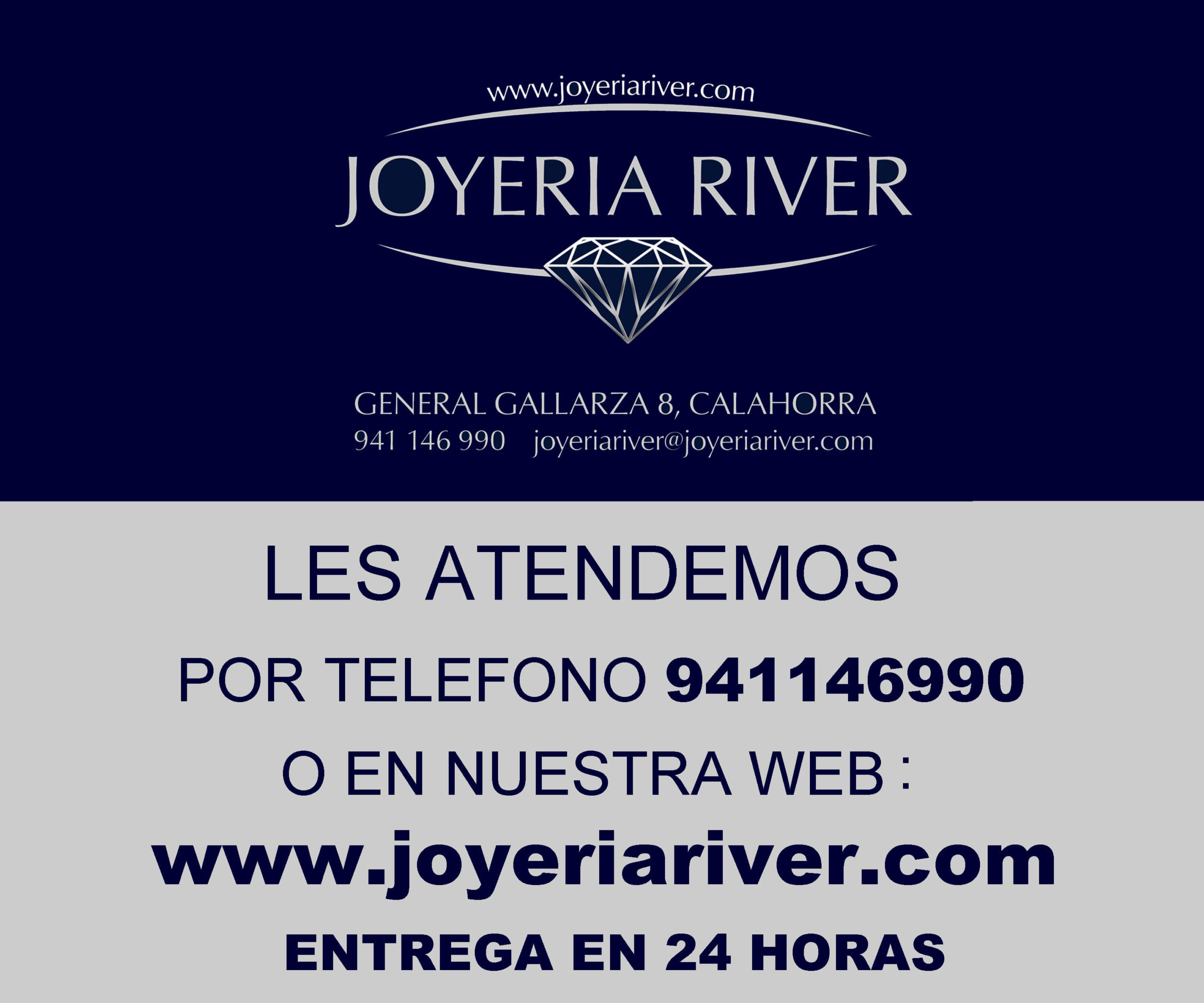 river venta especial banner