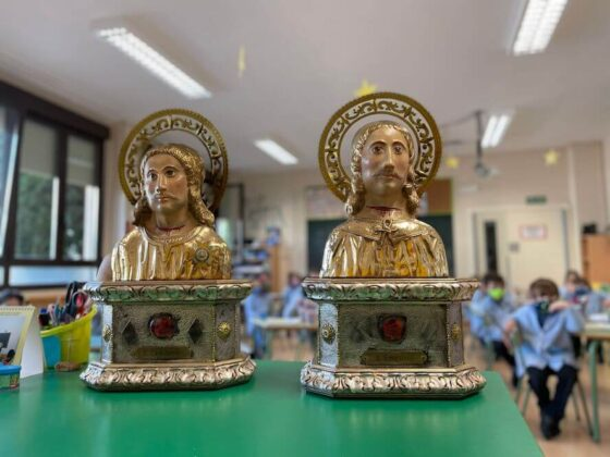 réplicas santos mártires