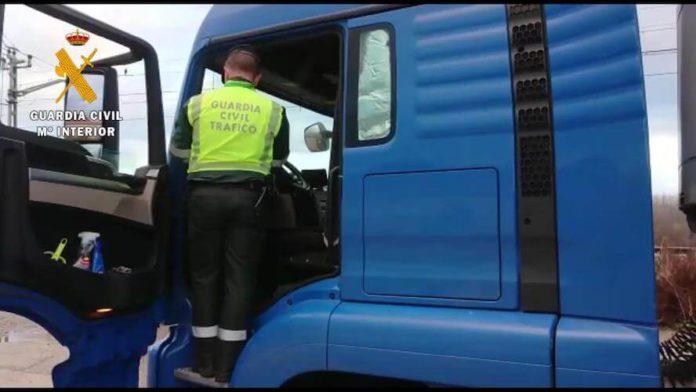 camionero infractor