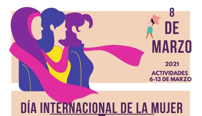 Cartel general 8M Día Internacional de la Mujer