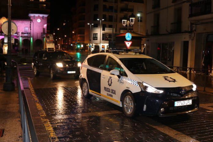 Policía Local nocturna