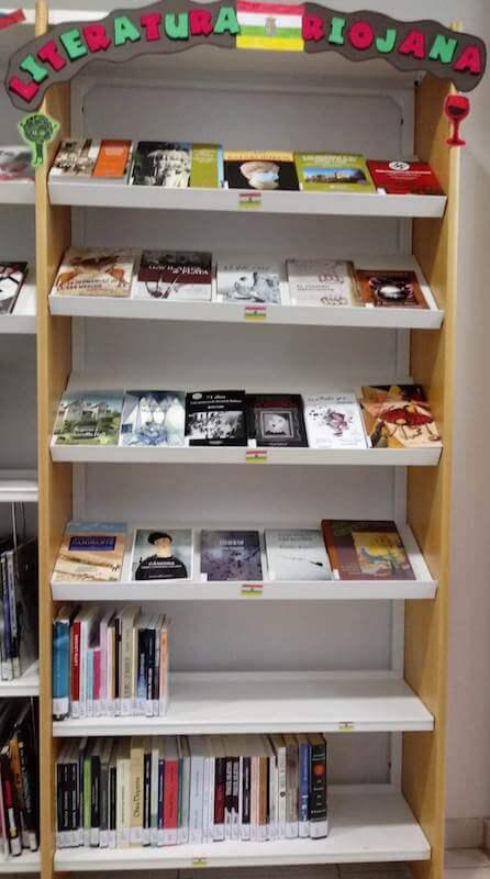 literatura riojana en la biblioteca
