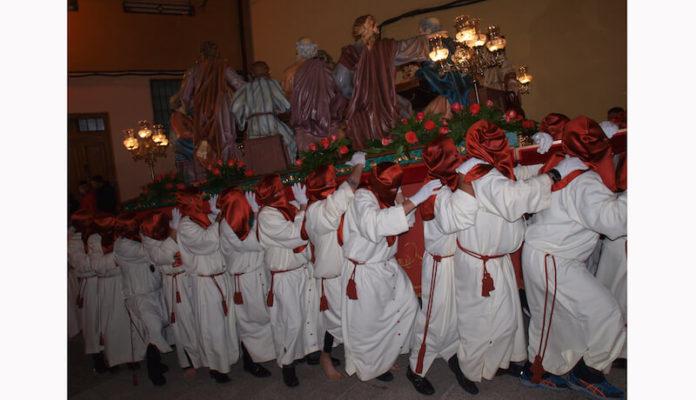 procesión última cena
