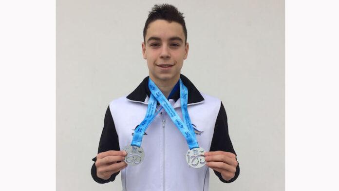 Iván Martínez Sota medallas de plata