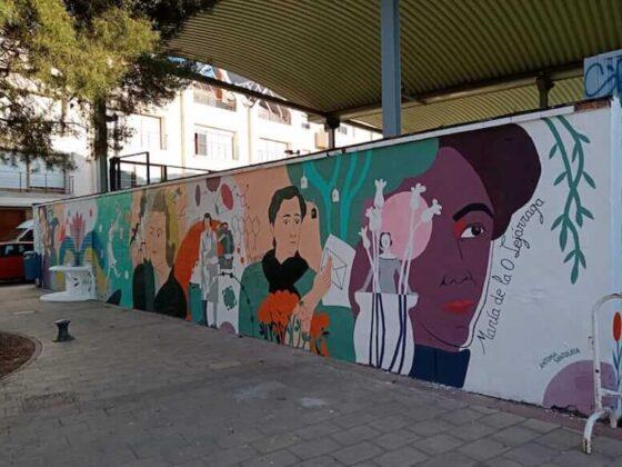 MURAL FEMINISTA CALAHORRA 2