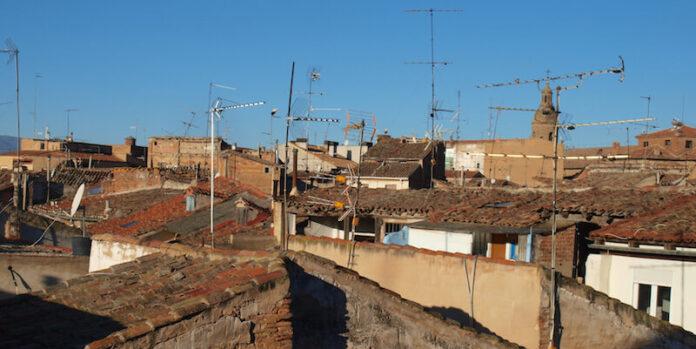 antenas y tejados casco antiguo