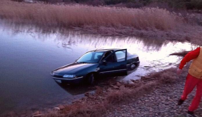 coche cae al embalse de Perdiguero 1 copia