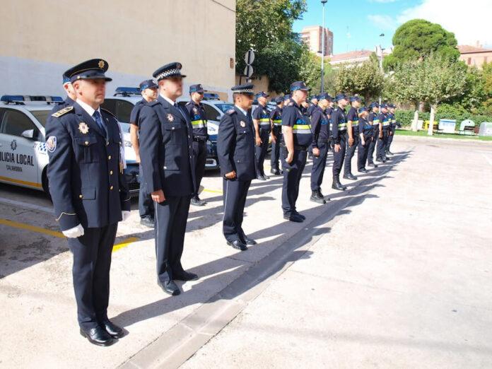 Policía Local en formación
