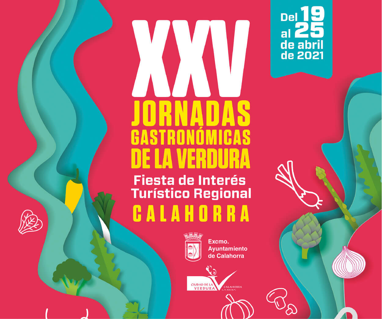 banner XXV jornadas verdura