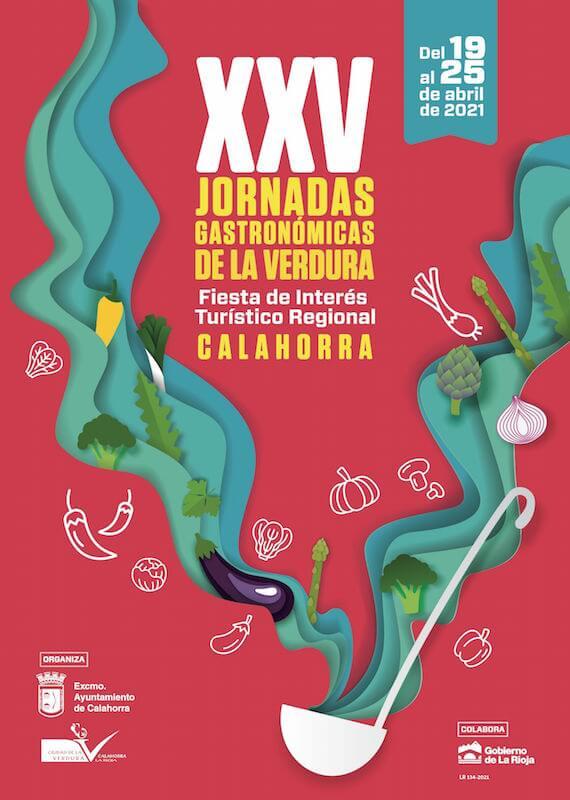 cartel XXV Jornadas de la Verdura 2021 copia