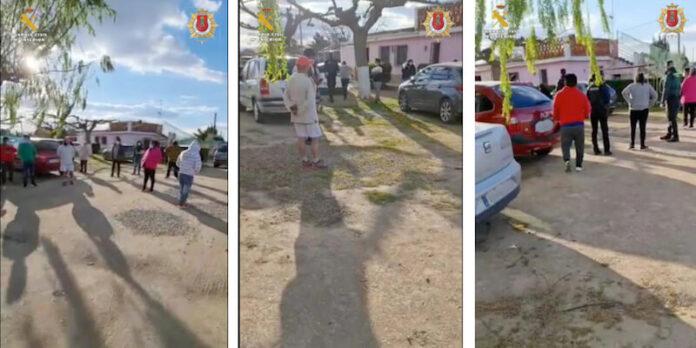 fiesta ilegal en Alfaro copia