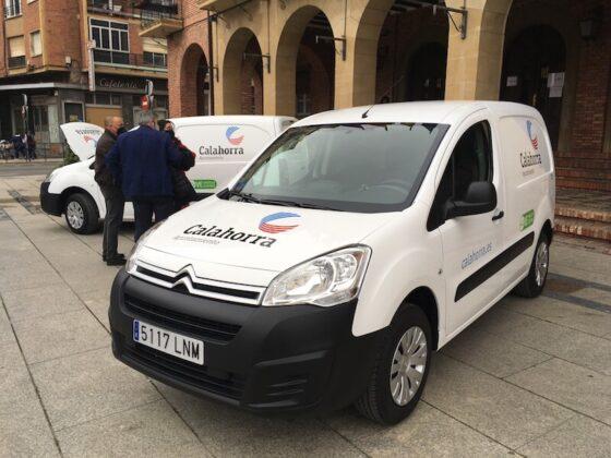 primeros vehículos eléctricos puros Ayuntamiento Calahorra4