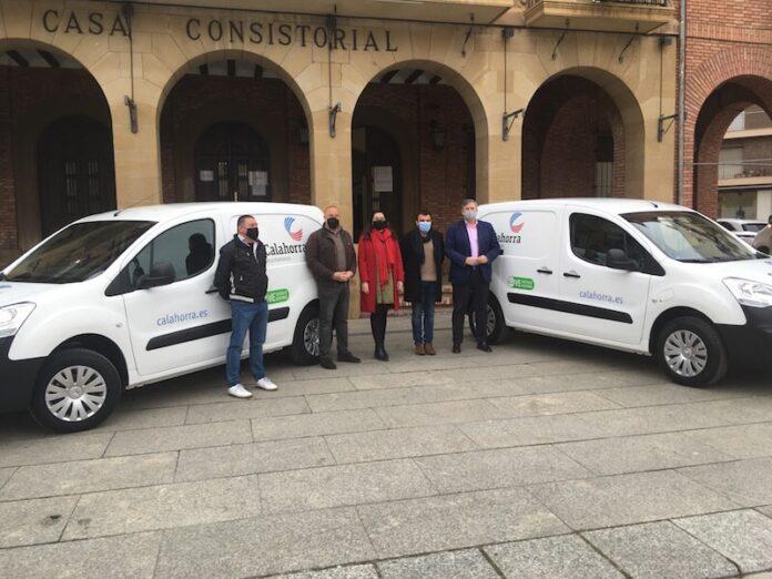 primeros vehículos eléctricos puros Ayuntamiento Calahorra 3