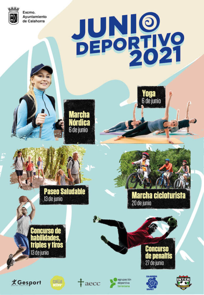 cartel junio deportivo