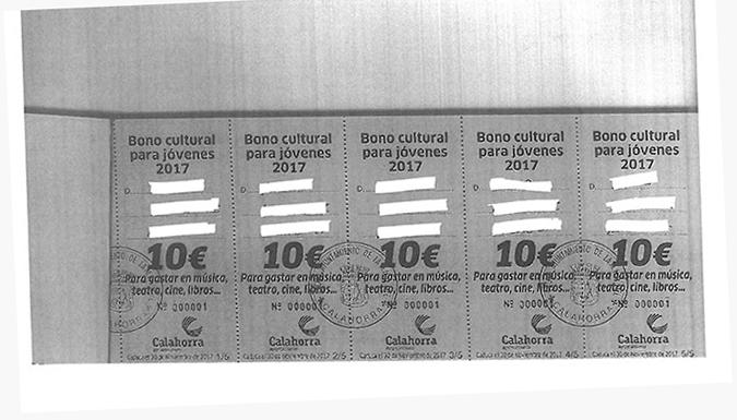Bono Cultural Juvenil
