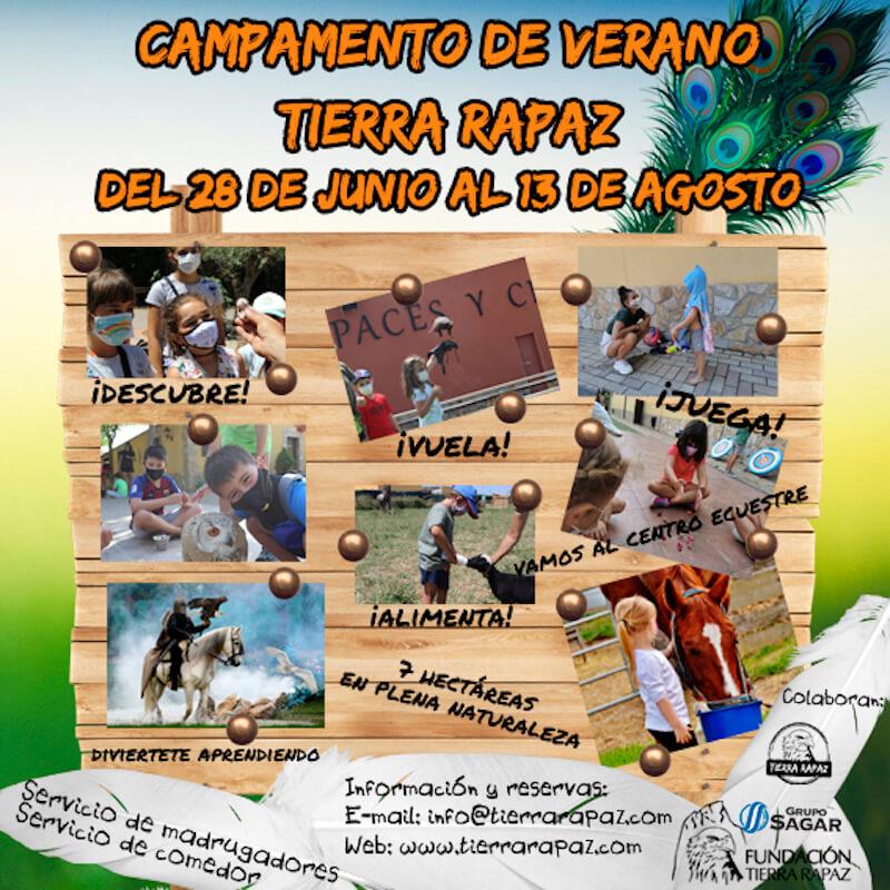 banner Tierra rapaz Campamento 2021