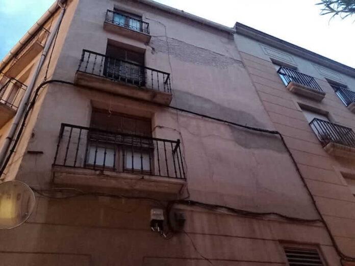 desprendimiento fachada