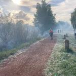 Incendio en el parque del cidacos