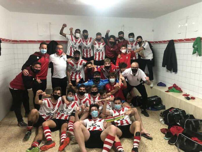 River Ebro celebra victoria frente al CD Calahorra copia