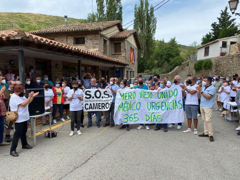 San Román manifestación urgencias