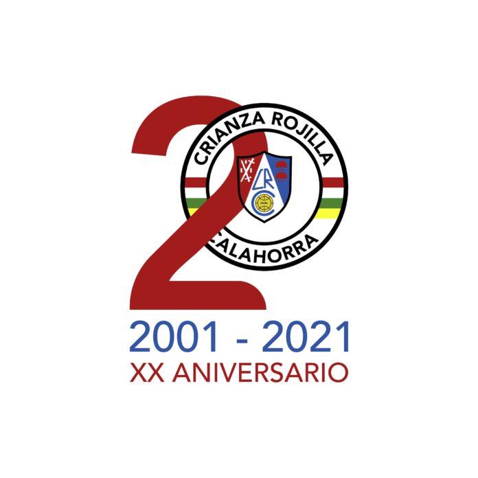 Logo XX Aniversario Crianza Rojilla