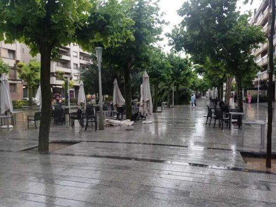 destrozos tormenta en Mercadal 5