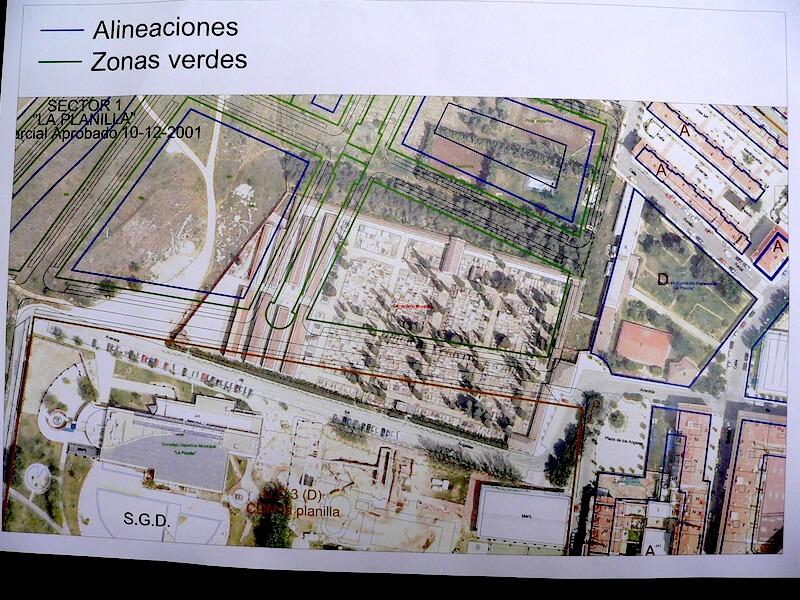 plano Plan cementerio