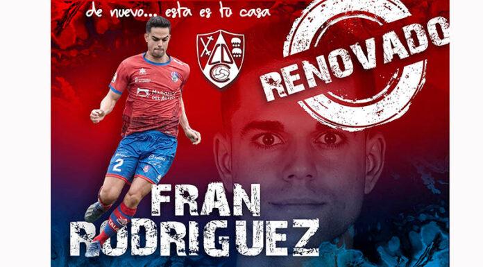 renovación Fran CD Calahorra