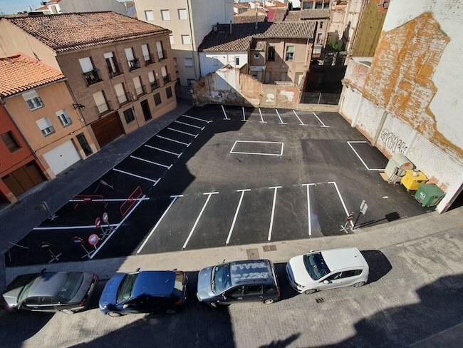 aparcamiento coliseo