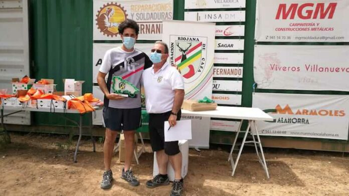 Álvaro Espinosa gana Campeonato La Rioja Compak Sporting