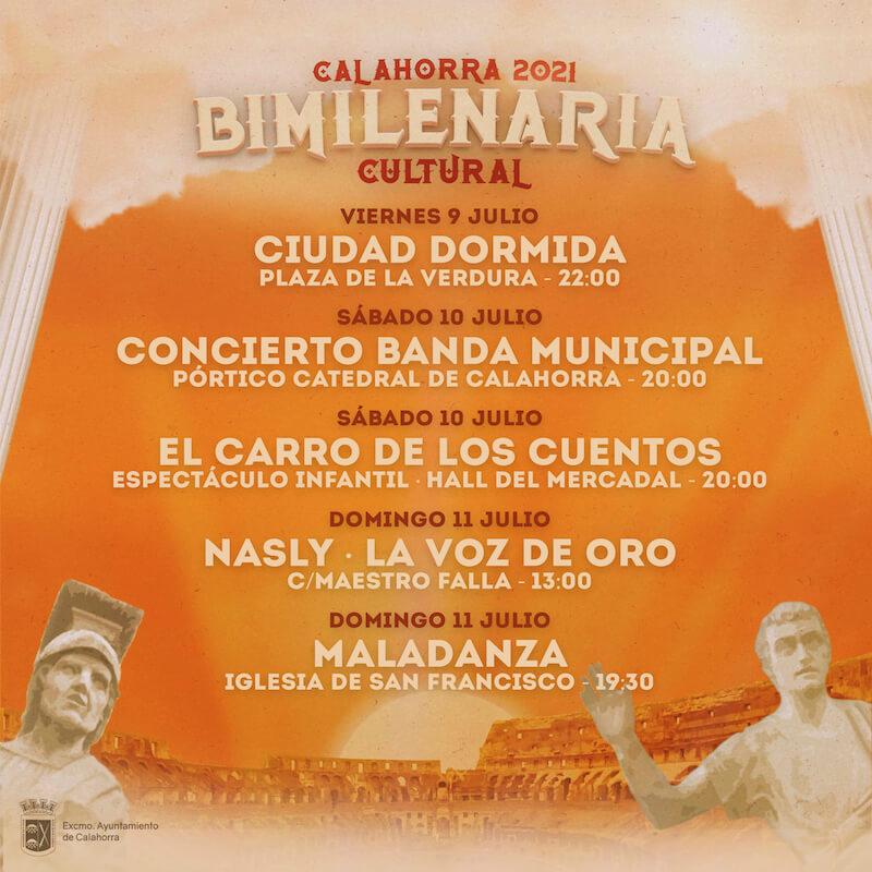 Bimilenaria Cultural 2ª de julio
