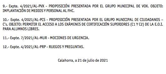 Pleno julio 2