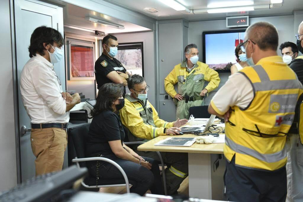 visita dispositivo anti-incendios Yerga